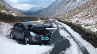 The Kirkstone pass remains closed.