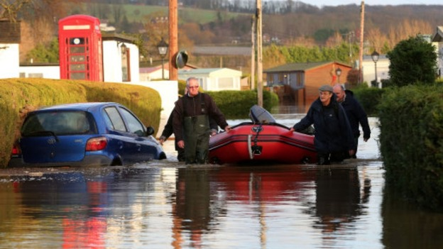 26 Rescued From Flooded Caravan Park