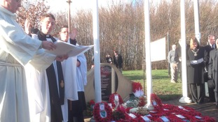 Memorial service to the victims of the M62 coach bombing
