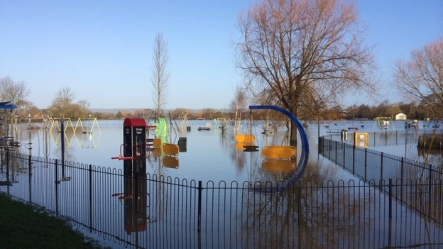 Viewers Pictures Tonbridge Park Under Water