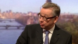 Michael Gove warned not to surround himself with 'yes men'