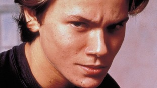 River Phoenix as Danny Pope/Michael Manfield in Running On Empty in 1988.