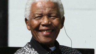 Nelson Mandela died in December last year.
