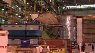 BAE Barrow-in-Furness factory