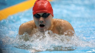 Sam Hynd won gold in the S8 400m Freestyle at Beijing 2008