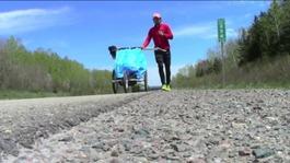 Jamie McDonald's Canadian marathon
