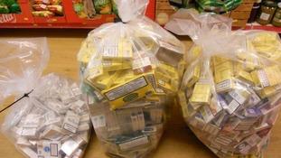 tobacco raids