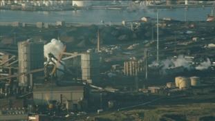 SSI steel works on Teesside