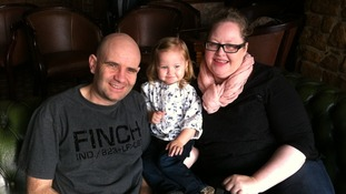 """""""Secrecy of family courts almost cost us our granddaughter,"""" say couple"""
