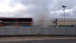 Loud explosions heard at recycling plant fire in Darlaston