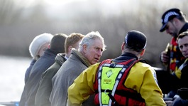 Charles criticises 'tragedy' of slow response to flooding