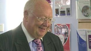 "New chairman says hospital move will help create ""world class centre"""