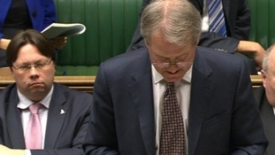 Dan Rogerson was next to Own Paterson in the House of Commons as he answered questions on the floods yesterday.