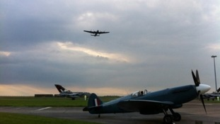 Dambusters return home before temporary disbandment