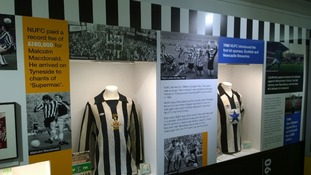 The Discovery Museum is going black and white for NUFC history exhibition.
