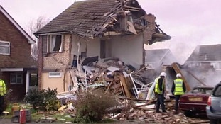 And another house was seriously damaged.