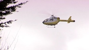 Two air ambulances were sent to the scene.