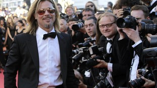 Actor Brad Pitt poses during a photo call for Killing Them Softly at the 65th international film festival, in Cannes