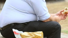 The North East has the highest percentage of overweight and obese people.