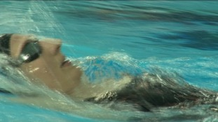 Rebecca Addlington swimming