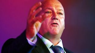 Rail, Maritime and Transport union general secretary Bob Crow