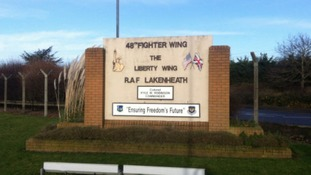 Over 1,000 staff are eligible for the first round of voluntary redundancies at RAF Lakenheath.