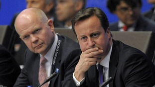 Cameron and Hague at this week's NATO summit