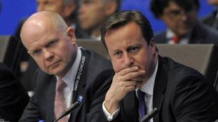 Cameron and Hague at this week's NATO summit