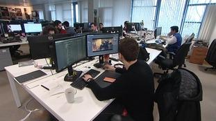 The workforce at 'Jagex'.