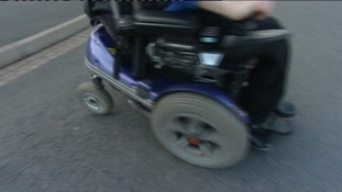anonymous wheelchair, disability