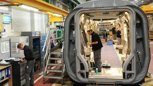 Bombardier plant in Derby