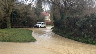 Much Hadham in Hertfordshire was one of the worst affected areas.