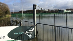 Football was off the agenda today at this astro turf facility in Stevenage today.