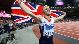 Jonnie won gold in 2012.
