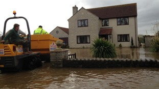 Heart of Moorland village almost impassable