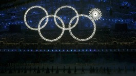 Russian TV shows doctored images of Olympic ceremony