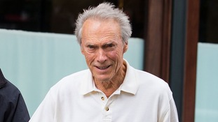 Clint Eastwood pictured in October last year.