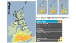 Severe weather warnings are in place tonight and over the weekend.