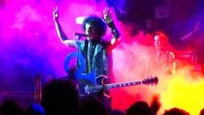 Prince on stage in Camden