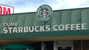 'Dumb Starbucks' parody shop opens in Los Angeles