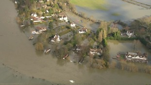 Homes on  the River Thames near Cookham