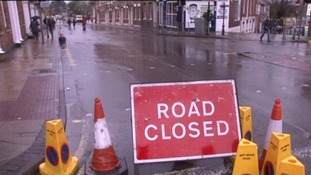 A number of road closures are in place in the Midlands