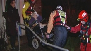 Wheelchair-bound elderly woman evacuated from Wraysbury