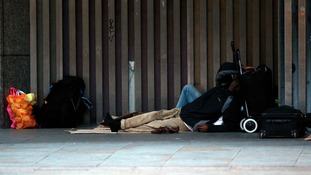Homelessness is one of the problems the grants are designed to tackle