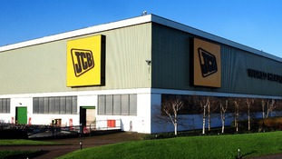 The JCB world HQ in Rocester, Staffordshire