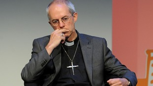 Archbishop of Canterbury Justin Welby, whose church is still deciding how to bring in women bishops