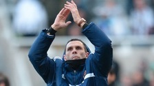 Manager Gus Poyet aiming high ahead of Man City clash tonight.