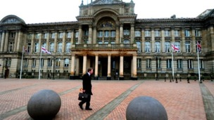 Birmingham City Council says it will have made £822m of cuts during 2010-2018