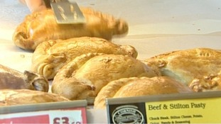 Government considers changes to 'pasty tax'