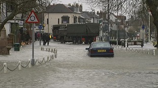 Residents in Datchet were among the worst hit